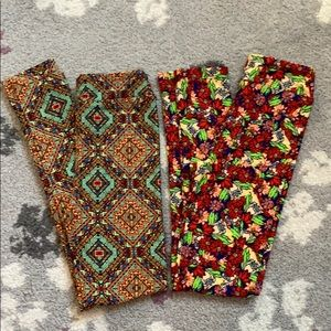 Lularoe girls leggings bundle!